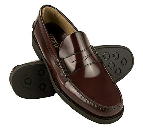 Zerimar Zapatos Castellanos Hombre   Mocasin Antifaz Hombre   Mocasin con Borlas para Hombre   Zapatos Castellanos Tallas Grandes   Mocasin Castellano Ultra Ligeros   Fabricados en España