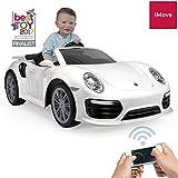MINICARS Coche eléctrico Infantil Porsche 911 132 cm 6V Blanco
