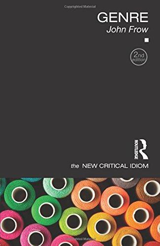 Literary Genre History & Criticism