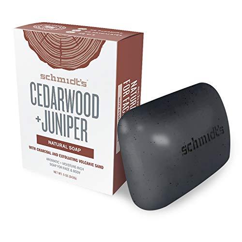 Schmidt's Seifenstück Cedarwood + Juniper, 1er Pack (1 x 142 g)