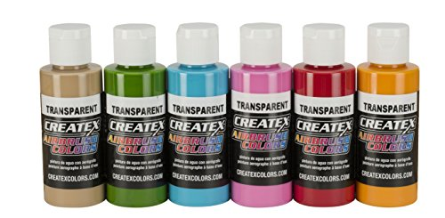 Createx Colors 5810-00 Tropical Airbrush Set, 2 oz.