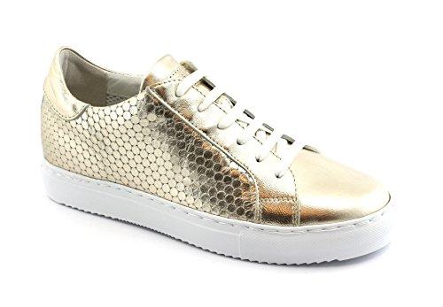 Grunland GI HOAN Schuhe SC3853 Platin Gold Sneaker Schnürsenkel Frau 37