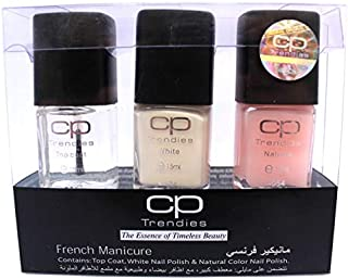 CP Trendies French Manicure Kit