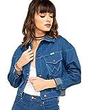 Wrangler Modern Jean Jacket Crop Low Dip Rinse SM