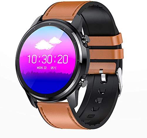 LF26 Bluetooth 5.0 reloj inteligente 1.3 pulgadas 360 * 360 HD pantalla impermeable reloj inteligente hombres s ritmo cardíaco presión arterial E