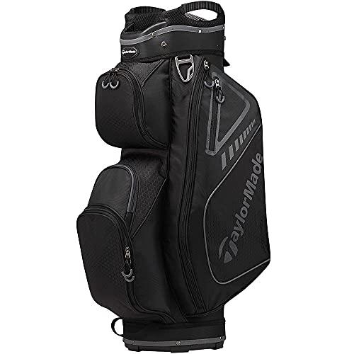 TaylorMade Select ST Cart Bag, Slate/Black