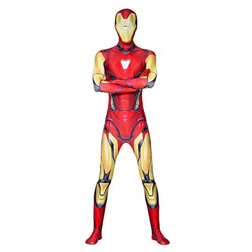 Hierro hombre cosplay disfraces niño adulto elegante vestido traje traje body conjuntamente siamese apretar musul para halloween fiesta de navidad fiestas etapa onesies,iron Man-Adult XXL(185~195cm)