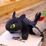 Cómo Entrenar A Tu Dragón 3 Desdentado Light Fury Night Plush Doll Toys Figuras De Anime 35cm