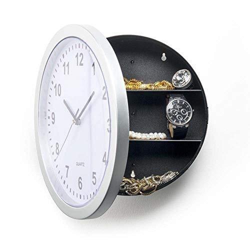 KK Timo Reloj Caja De Almacenamiento De Joyería Segura De Plata Reloj Reloj Caja De Almacenamiento Caja Fuerte Reloj De Pared