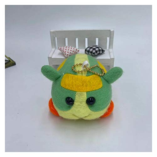 CHENPINBH Plüschtiere 10cm Plüschspielzeug Weiche Gefüllte Tiere Heiße Cartoon Maus Schöne Cavia Porcellus Puppe Kinder Geburtstagsgeschenke (Color : B)