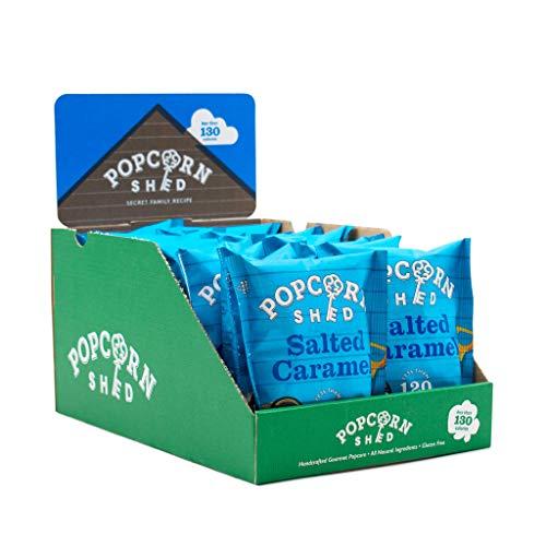 Palomitas de caramelo salado 16 x 24g | Paquetes de Aperitivos | Snacks naturales, sin gluten y vegetarianos