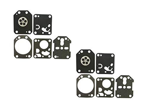 C·T·S Kit de Junta de carburador y diafragma para carburador OLEO Mac 350 DELL'ORTO (2 Unidades)
