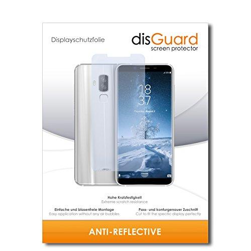 disGuard Schutzfolie für Homtom S8 [2 Stück] Entspiegelnde Bildschirmschutzfolie, MATT, Glasfolie, Panzerglas-Folie, Bildschirmschutz, Hoher Festigkeitgrad, Glasschutz, Anti-Reflex