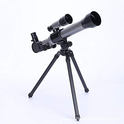 FULANTE Telescopio, telescopio de simulación HD de Experimento para niños con Espejo buscador, Juguete portátil para niños 20-40 Veces