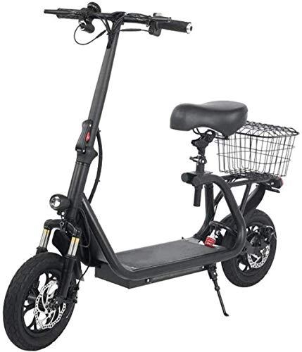 Elettrica Bici elettrica Mountain Bike Veloce Biciclette elettriche for Adulti Sedile Bici elettrica Tripla Assorbimento di Scossa velocità Massima 43 km/H, 45 km Lungo Raggio a Due Ruote-Batteria f