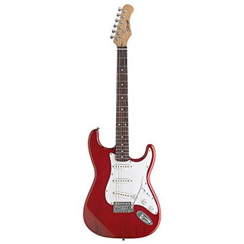 Stagg S300-TR - Guitarra eléctrica, color rojo: Amazon.es ...