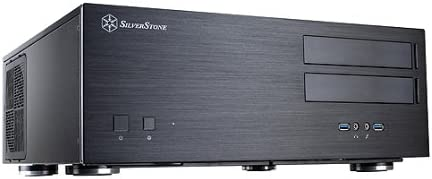 SilverStone Technology Home Theater Computer Case with Lockable Aluminum Front Panel for E-ATX/ATX/Micro-ATX Motherboards GD07B