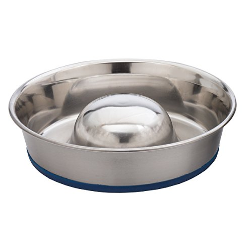 OurPets DuraPet Slow Feeder Bowl for Pugs