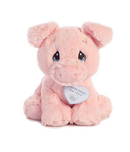 Aurora - Precious Moments - 8.5' Bacon Piggy- Pig, Pink