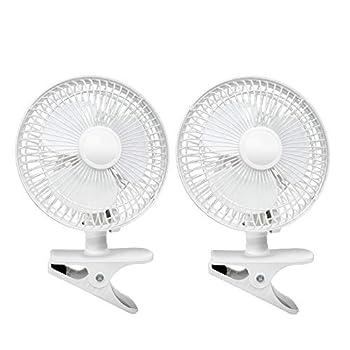 oscillating clip on fan