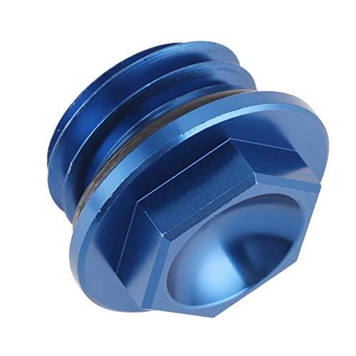 Socobeta Material de Aluminio Ligero, Tapa de llenado de Aceite del Motor, Mano de Obra Fina Tapa del Tanque de Aceite fácil de Montar, para Husqvarna TC 85 2014-2015(Blue)