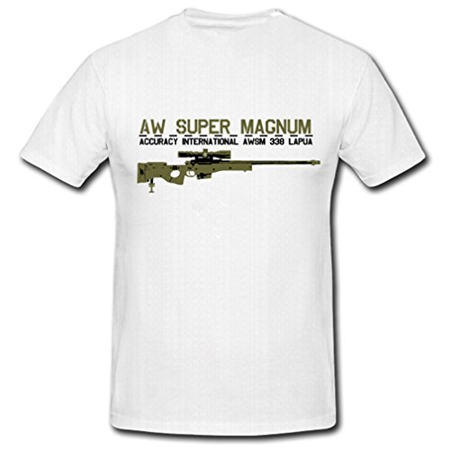 Accuracy International Arctic Warfare L118a1 Sr 98 Sniper AquaSakura 11oz Ceramic Coffee Mug Tea Cup