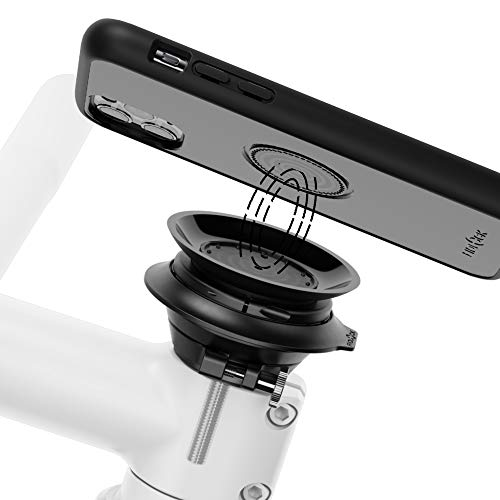 Fidlock Vacuum Set Soporte Bici para móvil Porta movil Bicicleta Compatible con iPhone 11/11 Pro / 11 Pro MAX / 8 / SE2 / Samsung Galaxy S20 / Galaxy S20+ / Galaxy S20 Ultra
