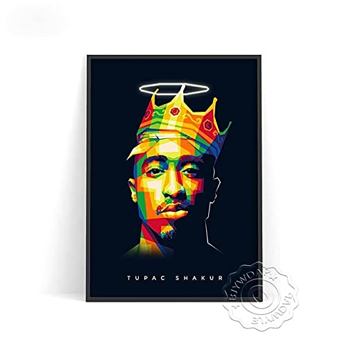 xmydeshoop Rapper Roddy RIcch Poster, JID Alligatoah Poster, Sido Kunstdrucke, The Weeknd Music Poster, The Kid Laroi Bar Pub Club Art Decor 40x50cm No Frame PE-1369
