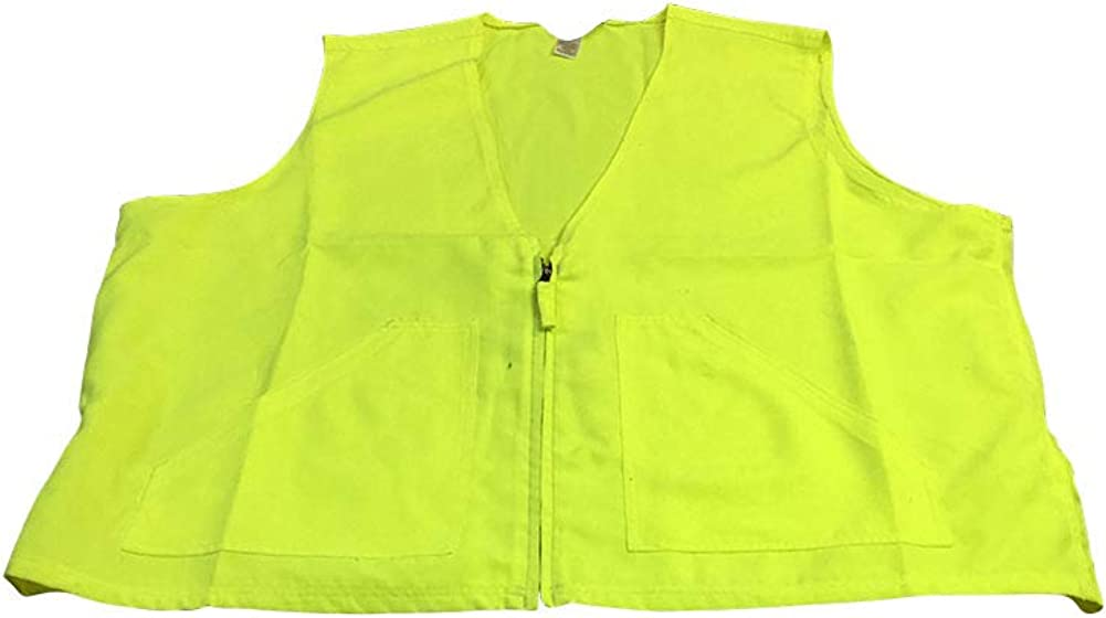 Big and Tall Hi Visibility Layering Safety Green Vest to 4X Big