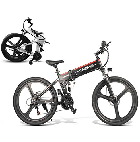 Coolautoparts Bicicleta Eléctrica PLEGABLE 350W/500W 26 Pulgadas para Hombres Mujeres de Aluminio...