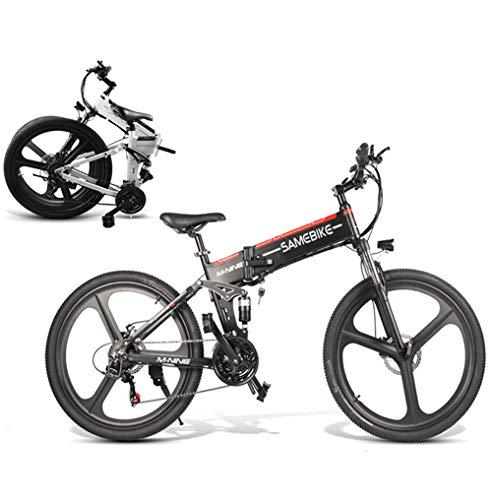 Coolautoparts Bicicleta Eléctrica PLEGABLE 350W/500W 26 Pul