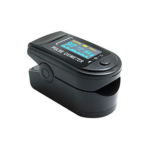 Nake Fingersättigungssensor Sauerstoffsättigung Pulsuhr Pulsuhr in verschiedenen Farben mit OLED-Display