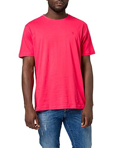 LERROS Herren Klassisches T-Shirt, HOT RED, XL