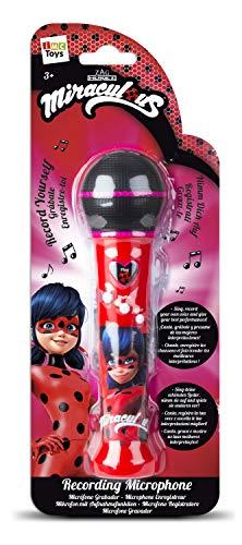 IMC Toys 442016LB Miracoulus Lady Bug Mikrofon mit Aufnahmefunktion
