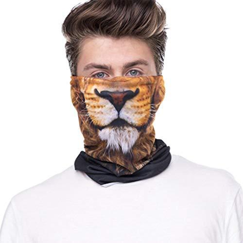 COZOCO 2019 Einfaches und nützliches Stirnband Radfahren Motorrad Kopftuch Nackenwärmer Gesichtsmaske Ski Sturmhaube Stirnband B Freie Größe