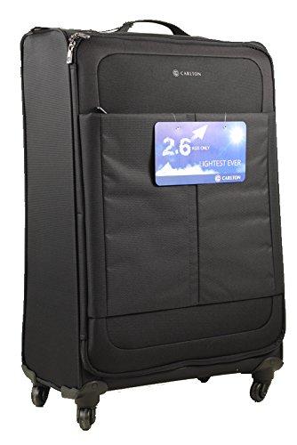 Carlton Suitcase, 77 cm, 102 Liters, Black 94j47801