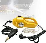WSVULLD Máquina de lavado de vapor, limpiador presurizado 2600W de alta potencia de alta potencia, descontaminación de alta temperatura, función de acumulación de presión de limpieza de vapor listo pa