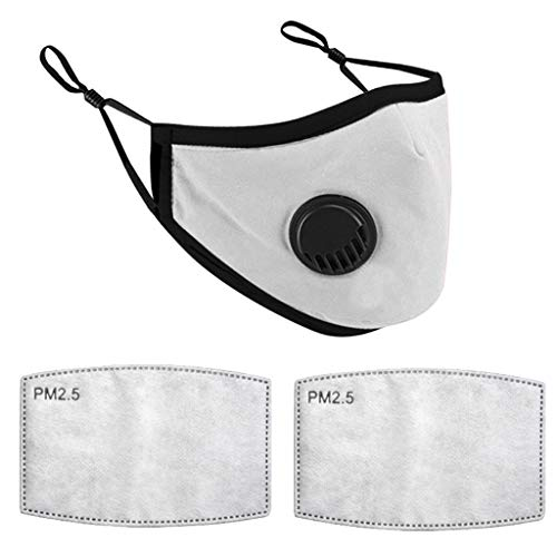 Review Xiaojmake Children Washable Reusable Cotton Cloth with 2 Filters Pad Dustproof Filters Breath...