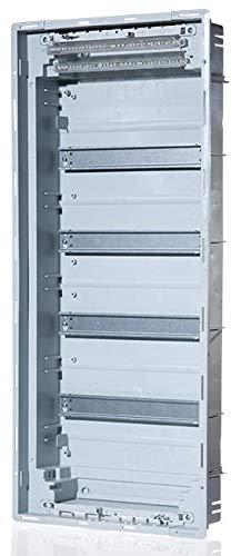 Kleinverteiler Aufputz (AP), Unterputz (UP), Hohlwand (HW) (UP-Verteiler, 4-reihig 48+8 Module, Schraubklemme, Tür Metall, 1)