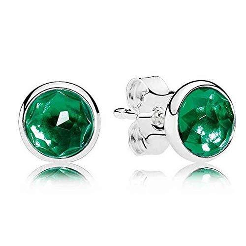 Pendientes de plata 'Gotas de mayo' de Pandora 290738NRG