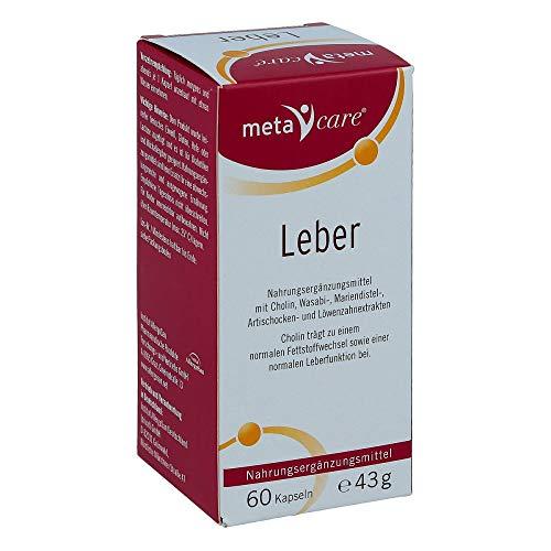 metacare Leber, 60 St. Kapseln