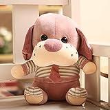 hokkk Cute Puppy Dog 50cm Plüschtier Krawatte Hund Puppe Schlafkissen Puppe Software großes Spielzeug, um Mädchen Geburtstagsgeschenk B 30 cm zu senden