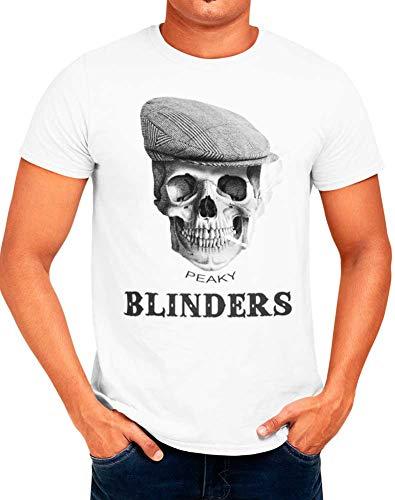 Mx Games Camiseta Peaky Blinders Calavera Cráneo (XXXL)