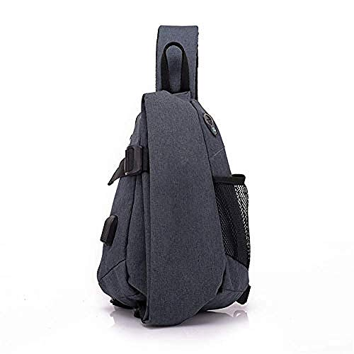 Waterroof Backpack for Outdoor Hiking Camping Travel 2L Chest Bag Gym Fitness Sports Exquisite Appearance/Black/As Shown
