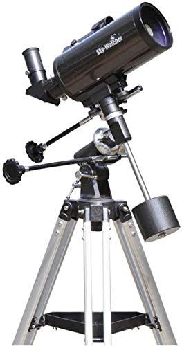 Refraktor Teleskop, Kaliber 90 mm, Öffnungsverhältnis F / 14, Limit Magnitude 12.5, Okulare Berg Kaliber 1,25