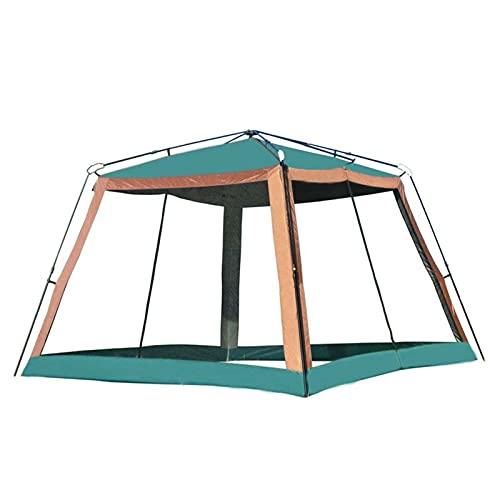 YLJR Tienda Ultralarge Automático 310 * 310 * 210cm 4 6 Persona Use La Tienda De Campa?a Camping Gazebo De La Playa De La Playa con 4 Paredes Tienda Familiar Domo para Acampar