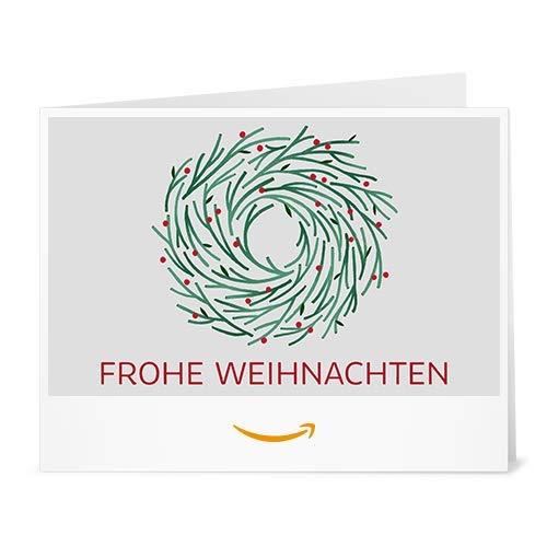 Amazon.de Gutschein zum Drucken (Adventskranz)