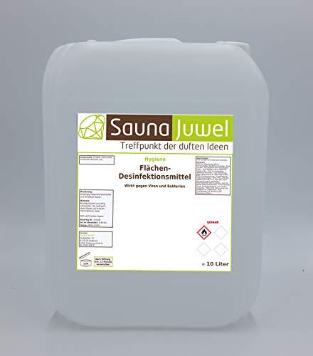 Desinfektionsmittel für Flächen (viruzid, bakterizid, fungizid) nach Vorgabe der WHO - 10 Liter