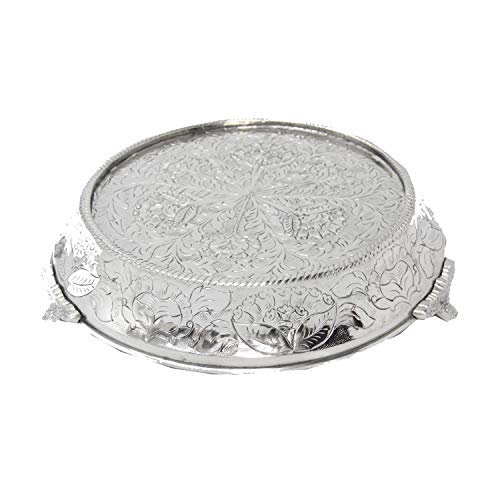 GiftBay Wedding Cake Stand Tapered Round 16' (top) Diameter, Strongly Built For Professional Bakers