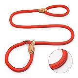 NA Cane Trazione Corda Media E Grande Cane Golden Retriever P Catena Retrattiable Trazione Viasone Collo P Corda Collare Cammino Corda Rosso XL-1,5-150cm